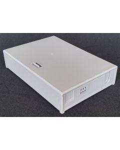 FTTx настенна кутия, 6 сплайса, 3 SC Sx + 6 мини кабелни портове