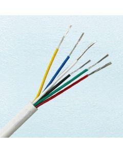 Алармен кабел, 6 X 0,22 mm, BC