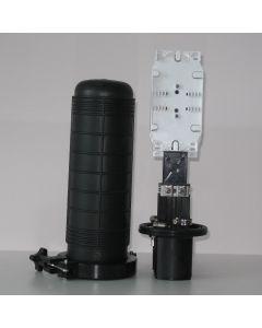 Оптична муфа 7008, 2+1 порта, 2 касети х12 сплайса