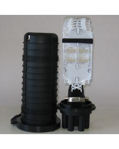 Оптична муфа 208-2D, 4+1 порта, 4 кас. х 24 спл.