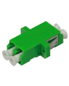 Адаптер LC/APC SM Dx, Zr, Зелен