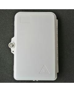 Настенна кутия, 4 SC Sx адаптери, 4 + 1  кабелни порта