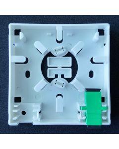 Розетка, 2 SC Sx порта, SC/APC адаптер