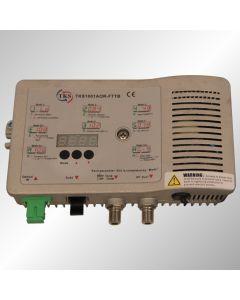 TKS FTTB оптичен приемник, 1002MHz, 2 изхода x 102dBuV, АРУ, 12-220V