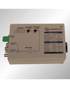 TKS FTTB оптичен приемник, 860MHz, 2 изхода x 98dBuV, 220V