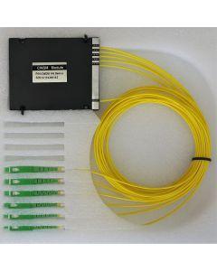 MUX (4+1)1310F/1490/1510/1530/1550, 1,5m 2.00mm LSZH SC/APC connectors