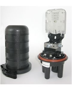 Оптична муфа GPJ-D - 4 порта, 2 кас., 24 спл.