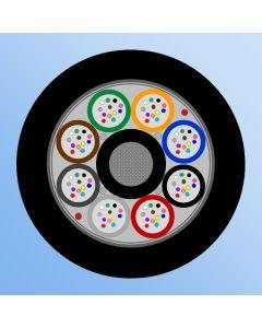 DUCT MLT  96F, 8x12F, FRP, HDPE, 1200/2000N, Dry-core
