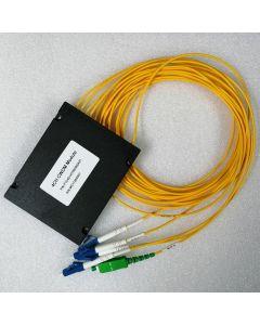 MUX/DEMUX 1x4 1470,1490,1550,1570nm LC/UPC COM-SC/APC ABS Box 1.5m 2mm