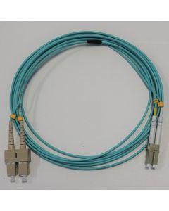 Пачкорд SC/PC-LC/PC Dx MM OM3  1m 2.00mm