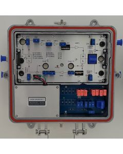 1,2G CATV усилвател, 5-204MHz/ 258-1218MHz, 38dB/24dB, 60V, Chineese