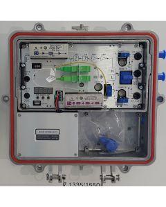 1,2G Оптичен приемник, 5-204MHz/258-1218MHz, RP: DFB 1550nm, 60V, RFMD