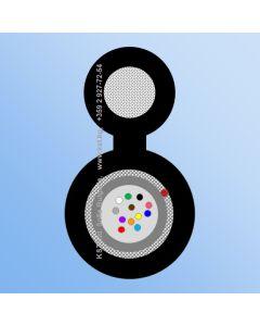AER  UT 12F, HDPE, 2000N, FRP-Messenger 2.00mm