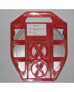 Метален чембер C201 20*0.4*50 Red