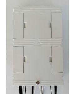 Настенна разпределителна кутия 24F, 24+4 порта, 24+3 SC