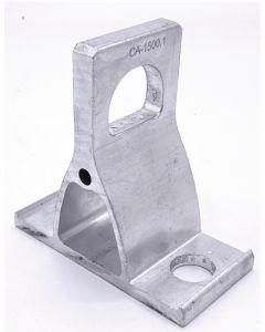 Конзола за монтаж на опъвателна клема CA-1500.1, 15kN, Al