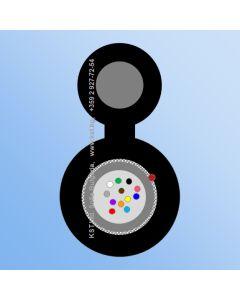 AER  UT 12F, HDPE, 1600/2700N, Messenger 2.00mm