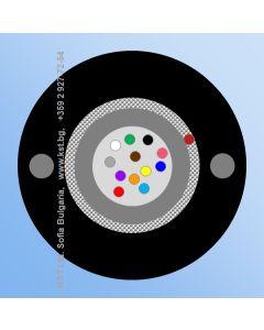 DUCT  UT 12F, GFR, HDPE, 500N, G.652D, FRP 2x0.58mm