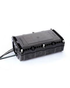 Оптична муфа FTTH RN402A 24/48 сплайса, 2 касети